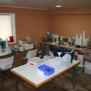 Laboratorium apparatuur Dierenkliniek Othene Terneuzen
