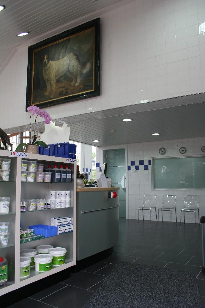 Dierenkliniek-Othene kliniek Terneuzen - werkvloer